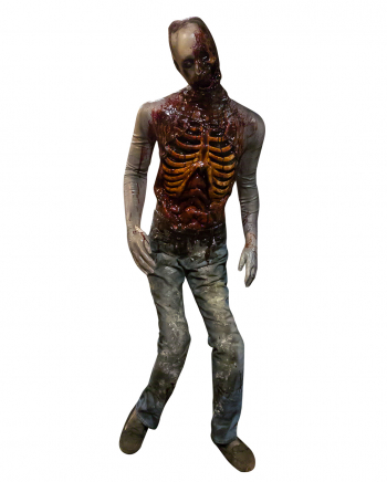 Rotting Zombie Standing Figure
