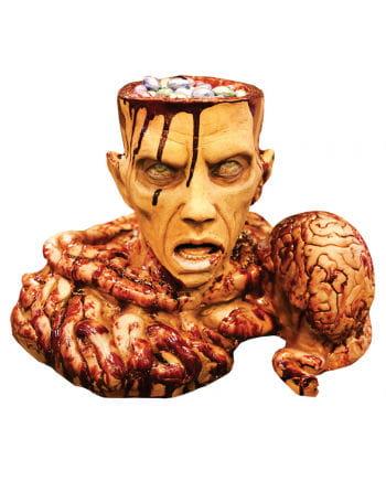 Zombie Brain Deko Prop