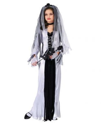 Zombie Bride Child Costume Medium