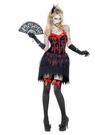 Zombie Burlesque Damen Kostüm