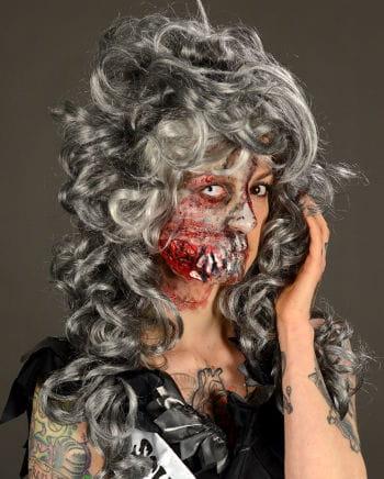 Cheekbone Zombie Wunde