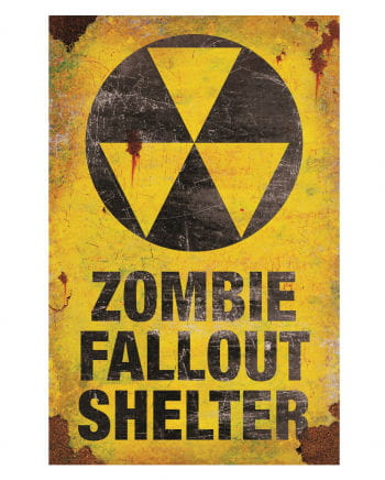 Zombie Fallout Shelter metal shield