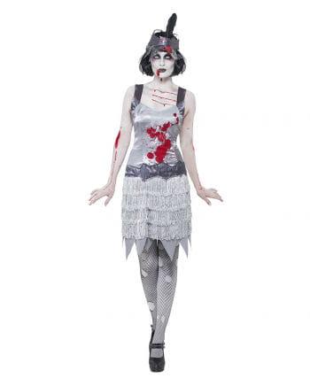 Flapper Zombie Kostüm für Frauen
