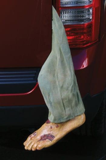 Zombie Fuß mit Hosenbein