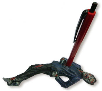 Zombie Pen Holder Blue