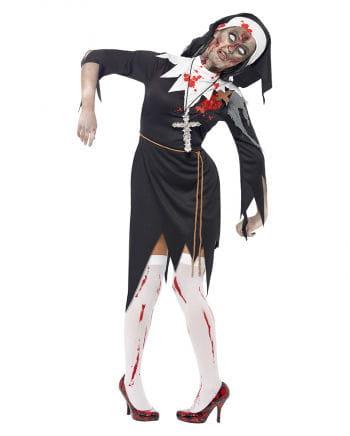 Zombie Klosterfrau Kostüm XL