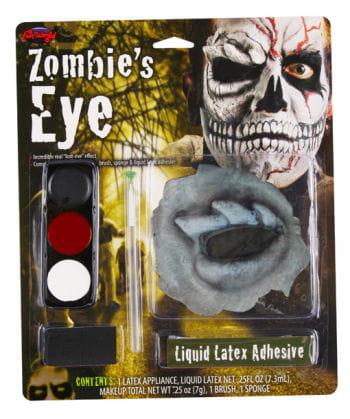 Zombie Totenschädel Make Up