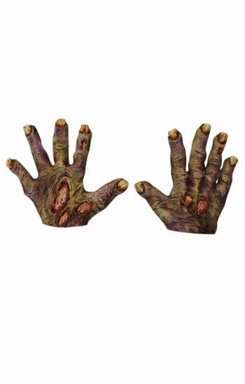 Zombie verottete Hände
