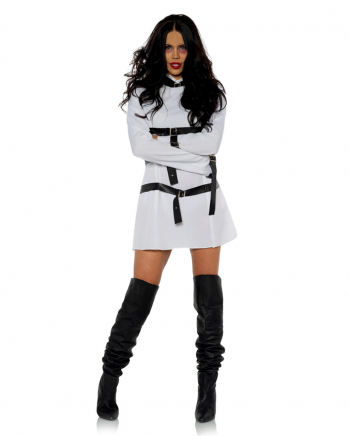 Straitjacket Ladies Costume With Buckles