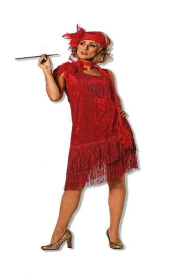 Twenties Dress Red XXL