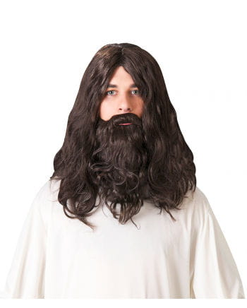 Dwarf Beard With Wig Dark Brown