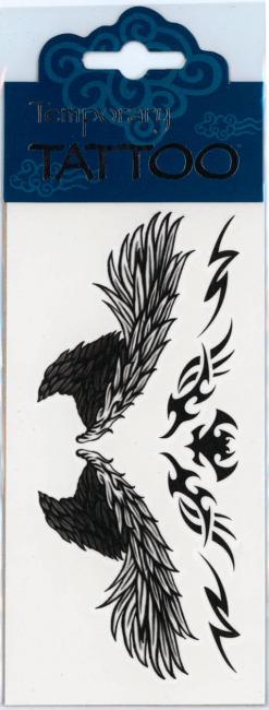 Temporary Tattoo Archangel Wings