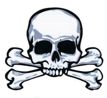 Pirate Tattoo Skull & Bones