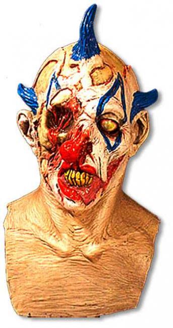 Dämonischer Punk Clown Maske