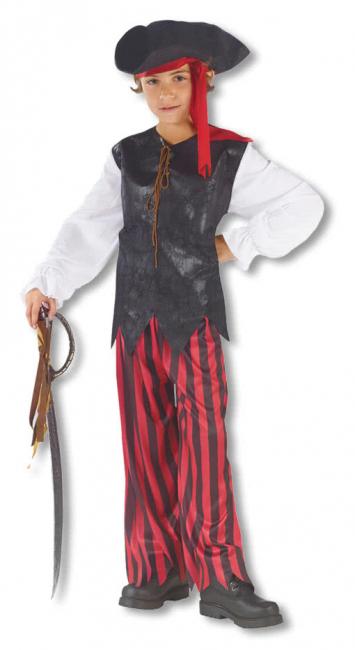 Karibik Pirat Kinderkostüm Large