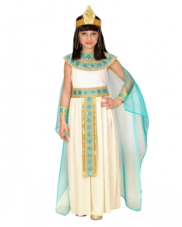 4-piece Cleopatra Child Costume Deluxe