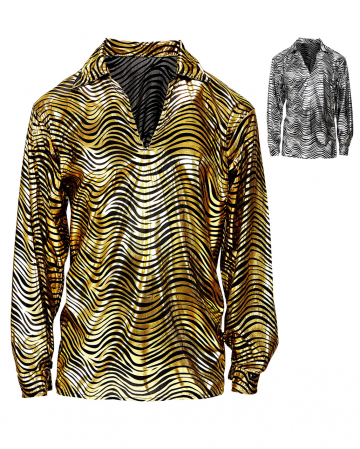 70s Disco Fever Shirt Gold Or Silver