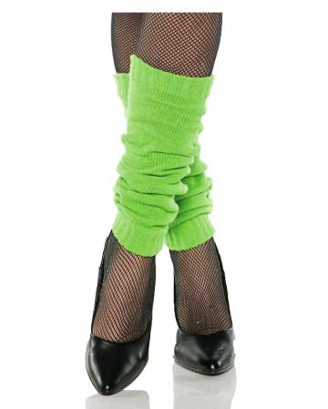 Grüne 80er Jahre Beinstulpen