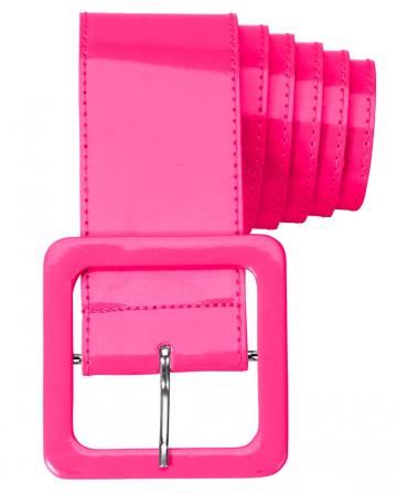 80ies Gürtel Neon Pink