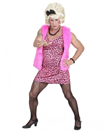 80er Jahre Girl Travestie Kostüm