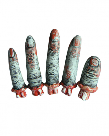 Blutige Zombie Finger