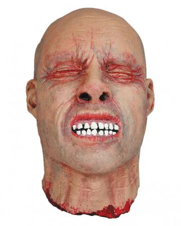 Abgetrennter Schädel mit geschlossenen Augen