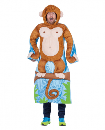 Monkey In Tree Men Costume