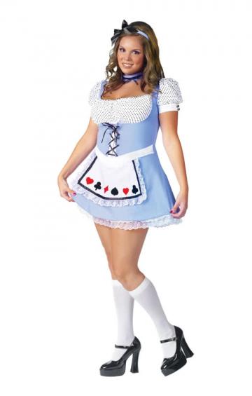 Alice Kostüm Übergröße