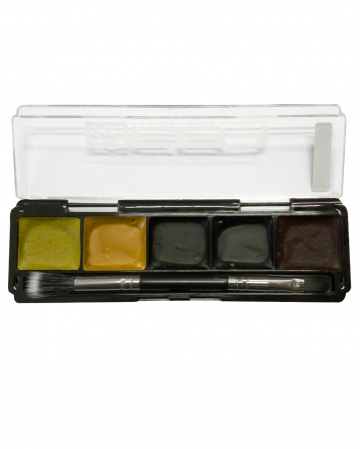 Bluterguss SFX Wasserfestes Make-Up Set 5 Farben