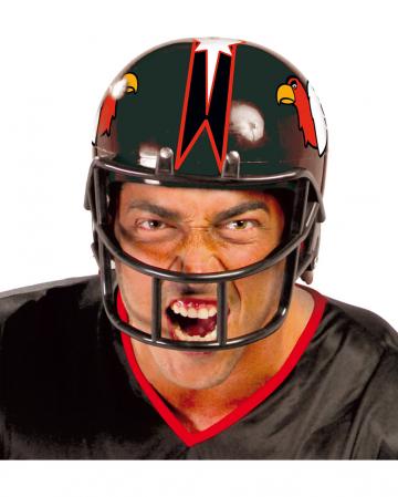 Schwarzer American Football Helm