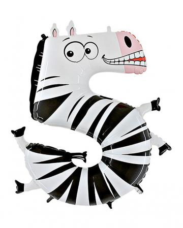 Animaloon number 5 Zebra
