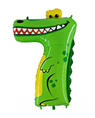 Animaloon Zahl 7 Alligator