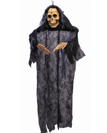 Rustikale Skelett Hängefigur mit Fetzenkleid