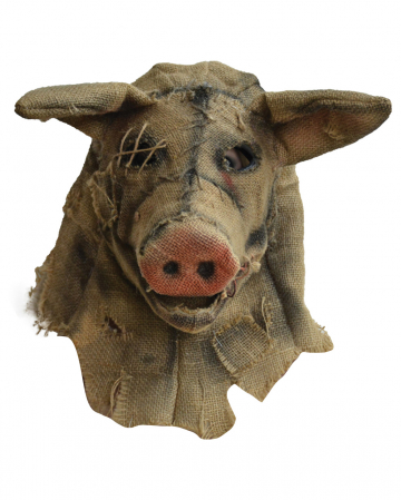Antique Scarecrow Pig Mask
