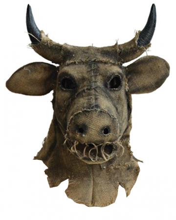 Vintage Vogelscheuche Stier Maske