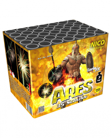 Ares 35 Schuss Batteriefeuerwerk