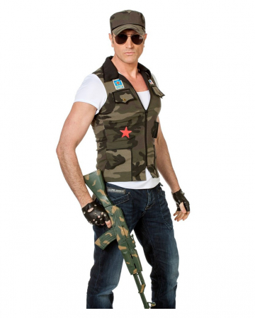 Army Costume Vest With Cap