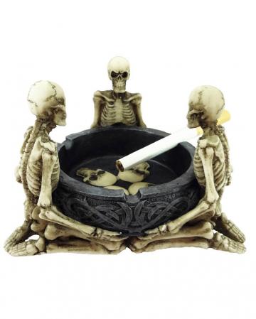 Skelett Aschenbecher
