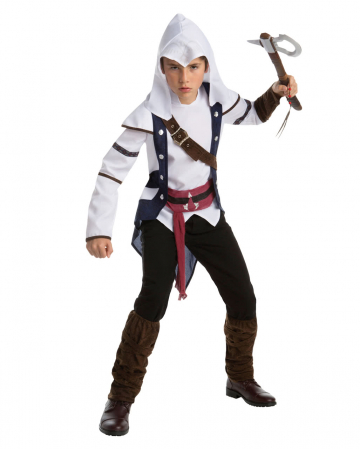 Assassins Creed Connor Teen Costume