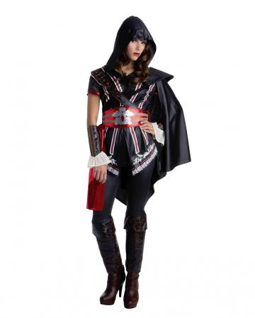 Assassins Creed Ezio Auditore Costume For Ladies