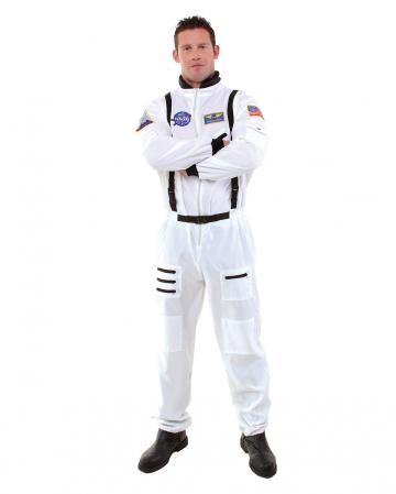 Weißer Raumfahrer Kostüm-Overall