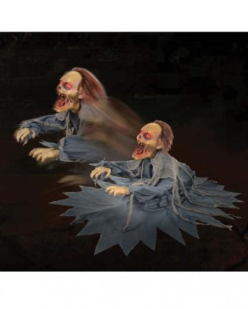 Attacking Zombie Reaper Animatronic