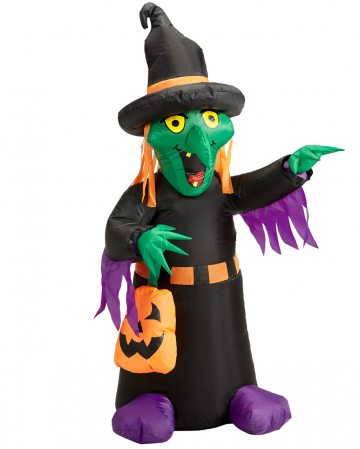 Inflatable & Shining Witch 122 Cm