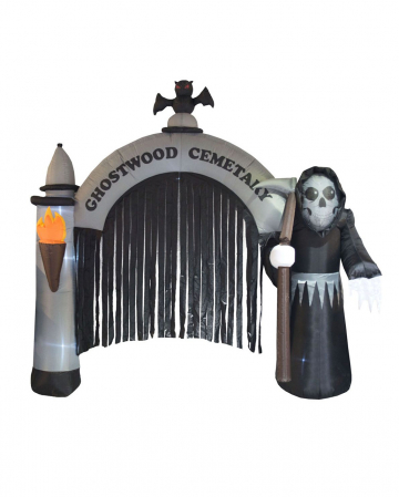 Inflatable Halloween Cemetery Gate