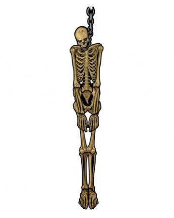 Erhängtes Skelett Dekoration