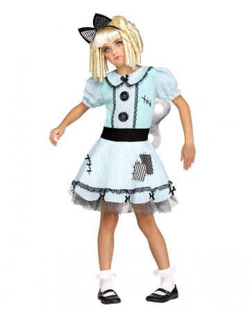 Aufziehpuppe Kostüm für Mädchen