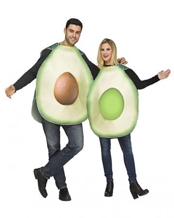 Avocado Pärchen Kostüm