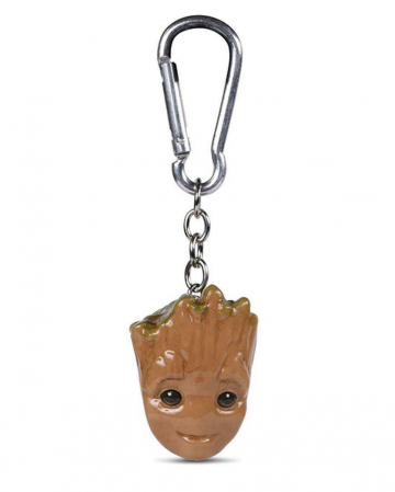 Baby Groot 3D Keychain