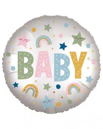 Baby Folienballon Satin