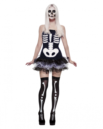 Skelett Ballett Kostüm